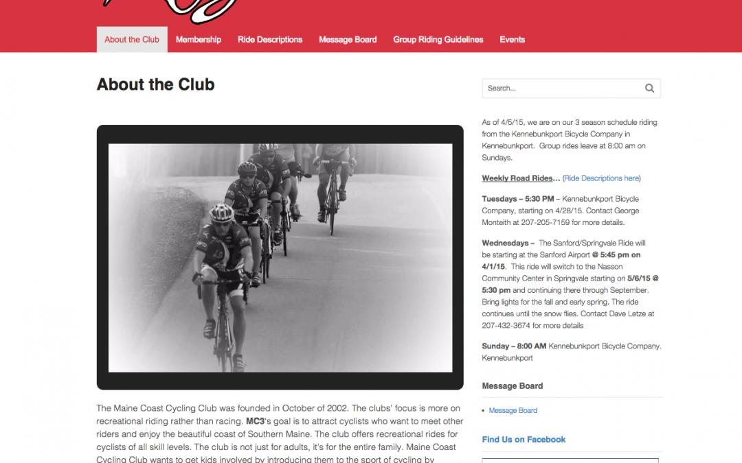 Maine Coast Cycling Club